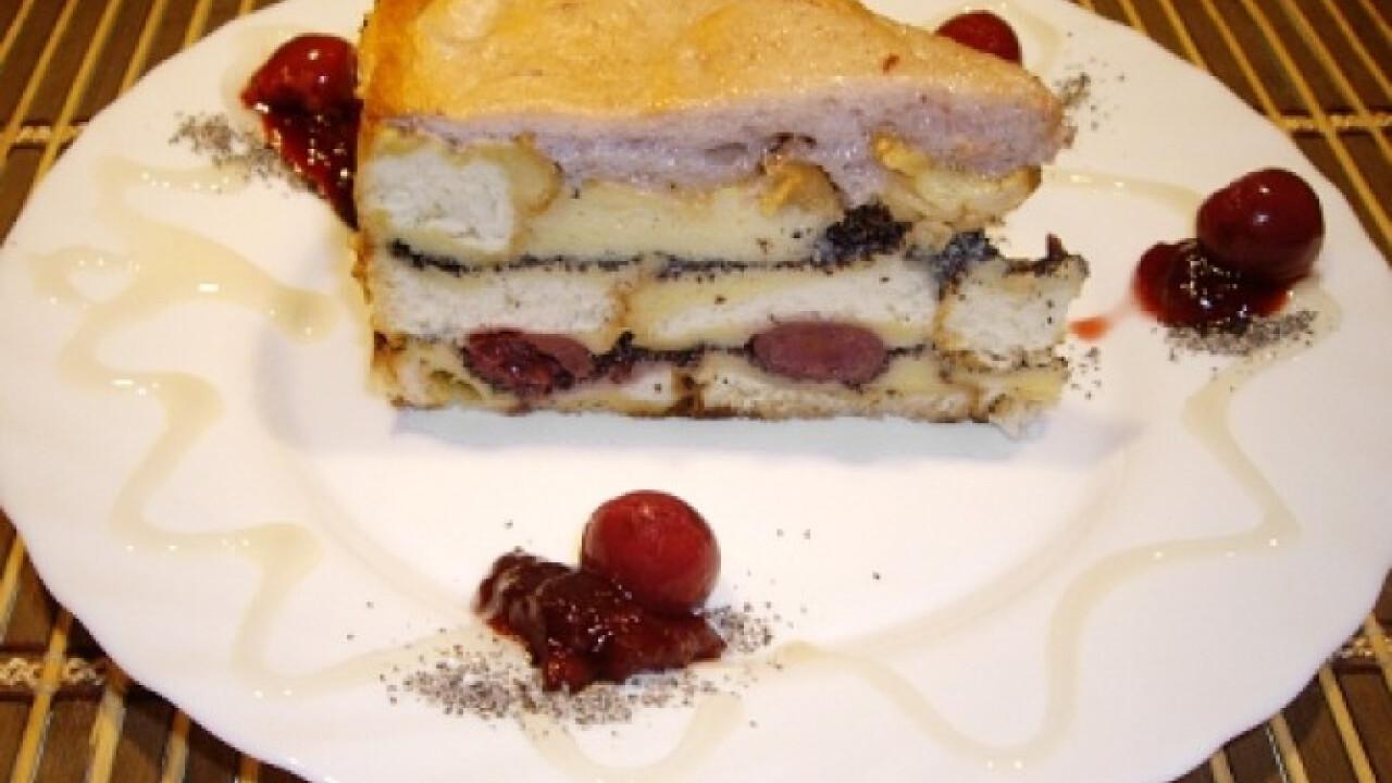 Mákos guba torta Pirkától