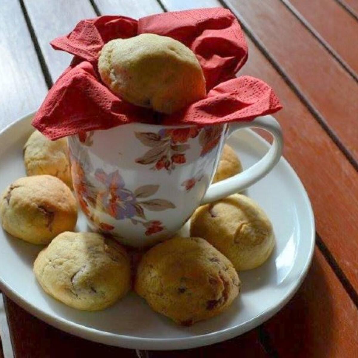 Ezen a képen: Nutellával töltött keksz Lilo konyhájából