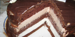 Latte machiato torta