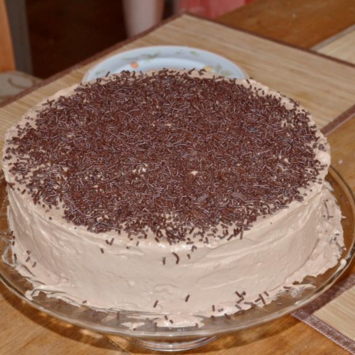 Ezen a képen: Csokoládétorta BeePoo konyhájából
