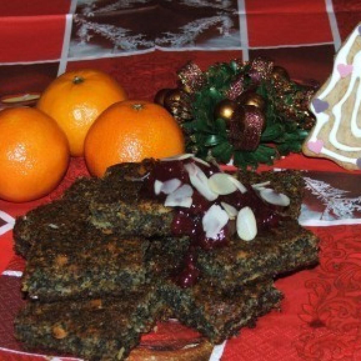 Ezen a képen: Mákos-sütőtökös süti