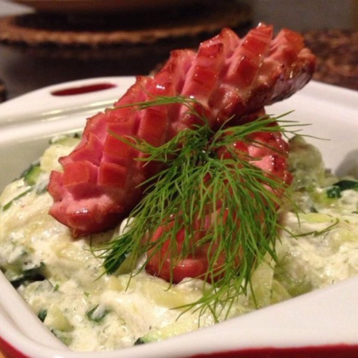 Ezen a képen: Cukkinifőzelék GastroHobbi konyhájából