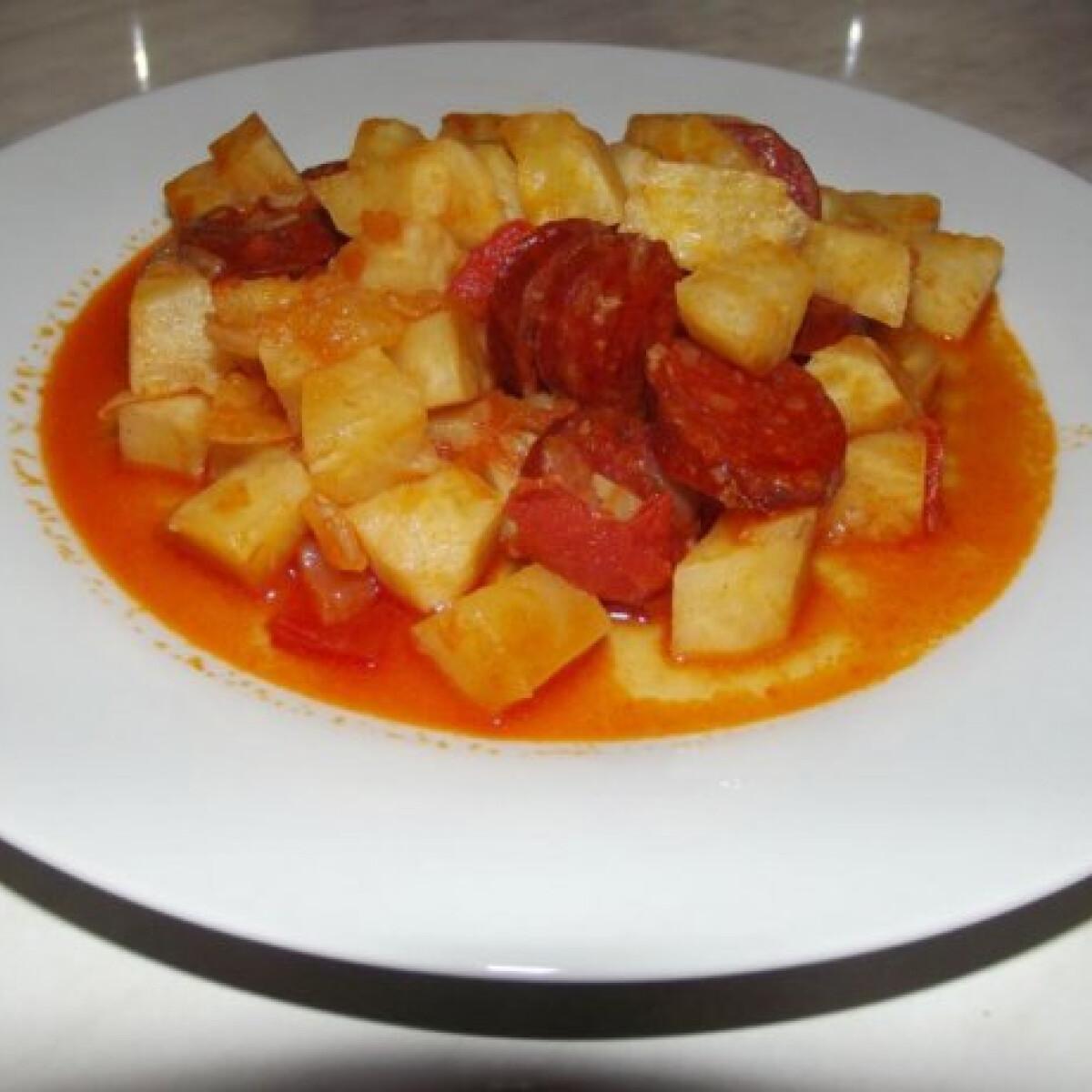 Ezen a képen: Hamis paprikás krumpli