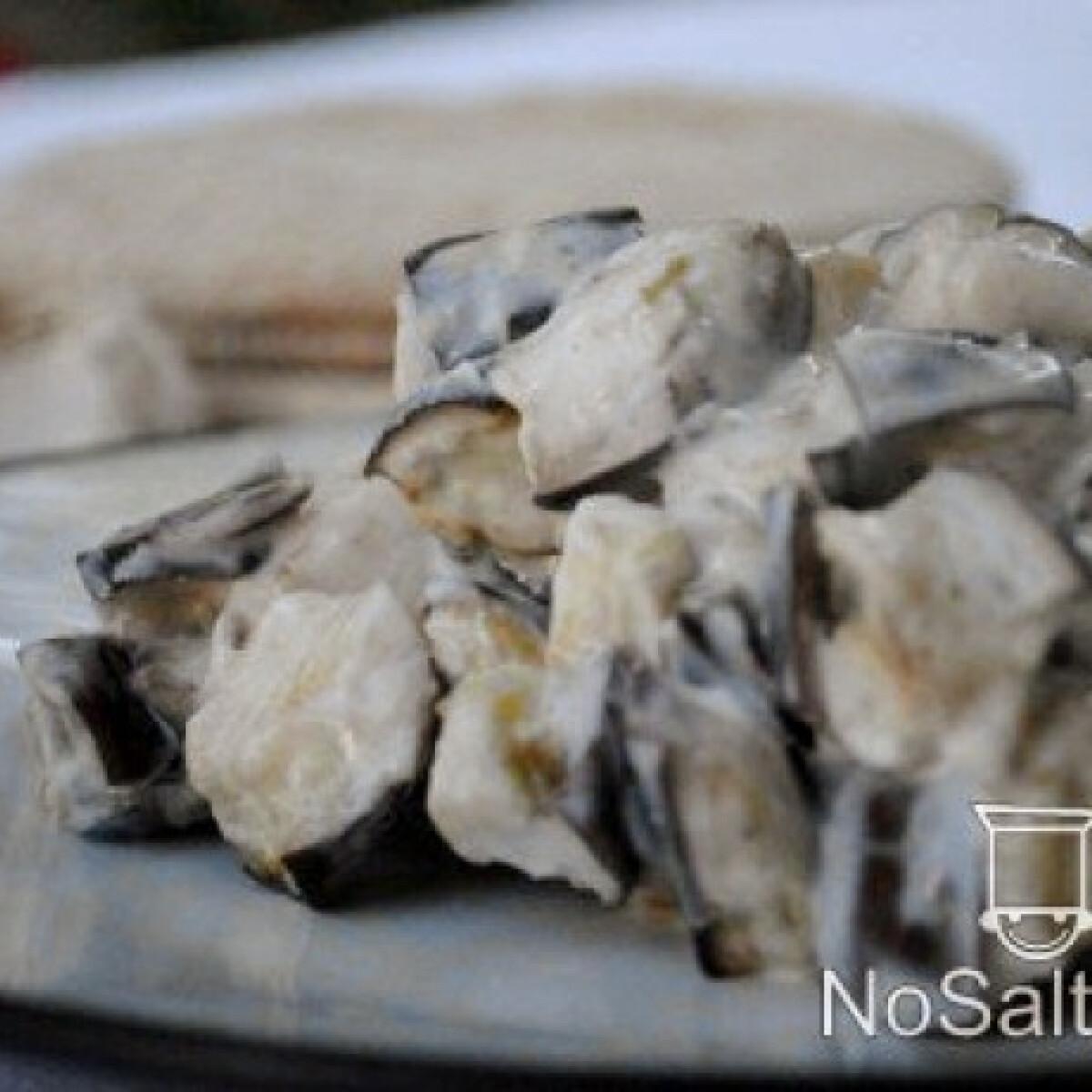 Ezen a képen: Joghurtos padlizsánsaláta