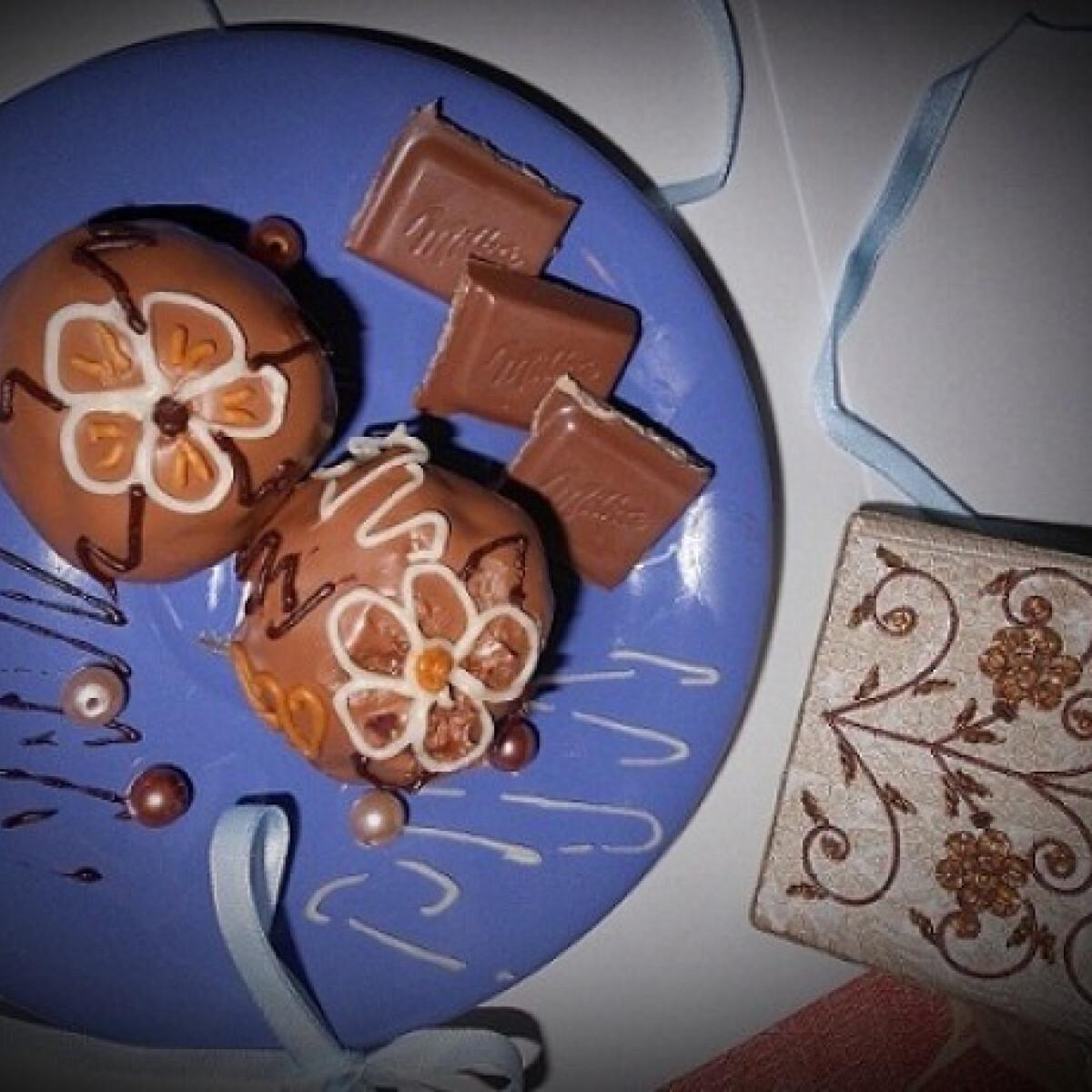 Ezen a képen: Csokoládés-tejszínes cake pops bonbon