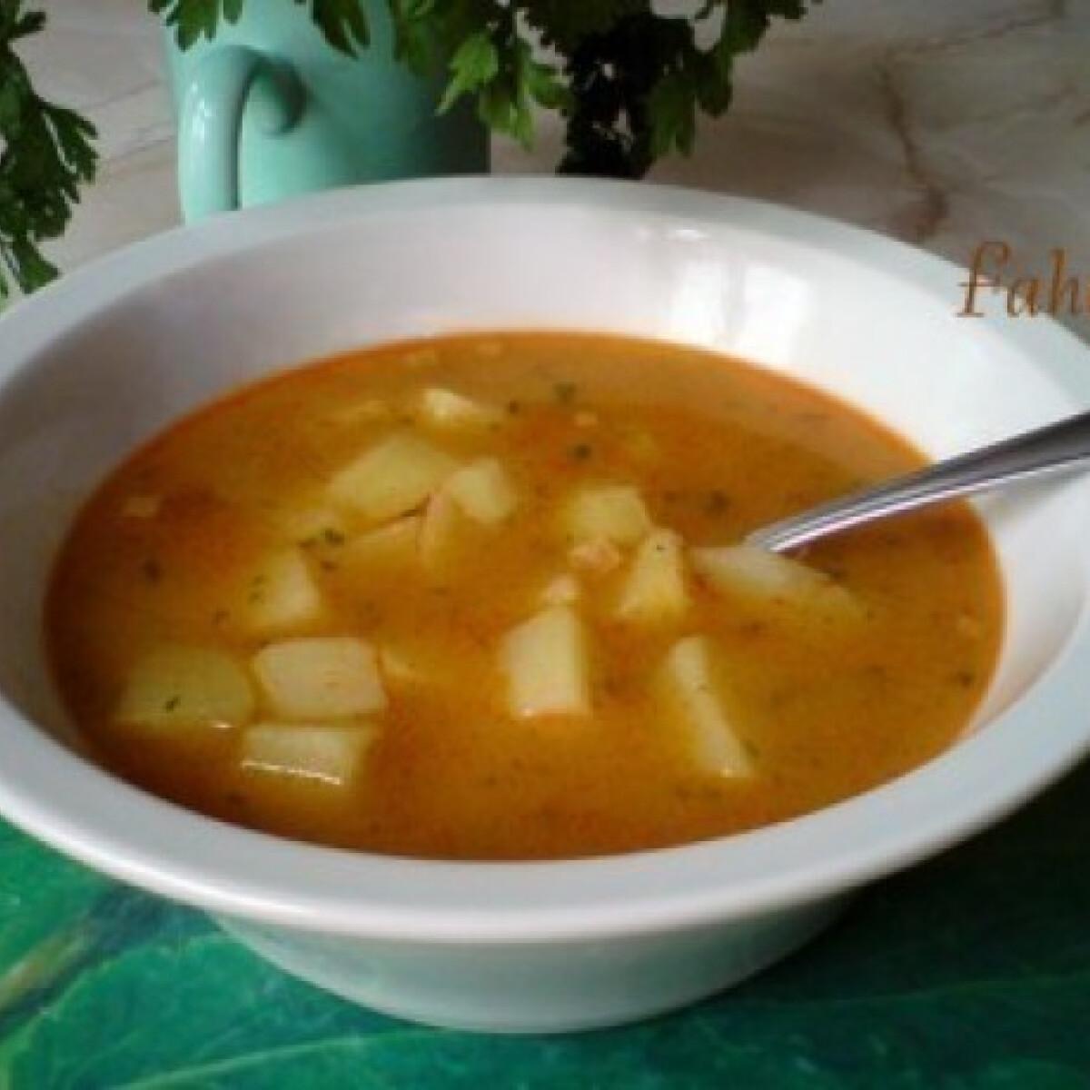 Ezen a képen: Édes-kedves krumplileves
