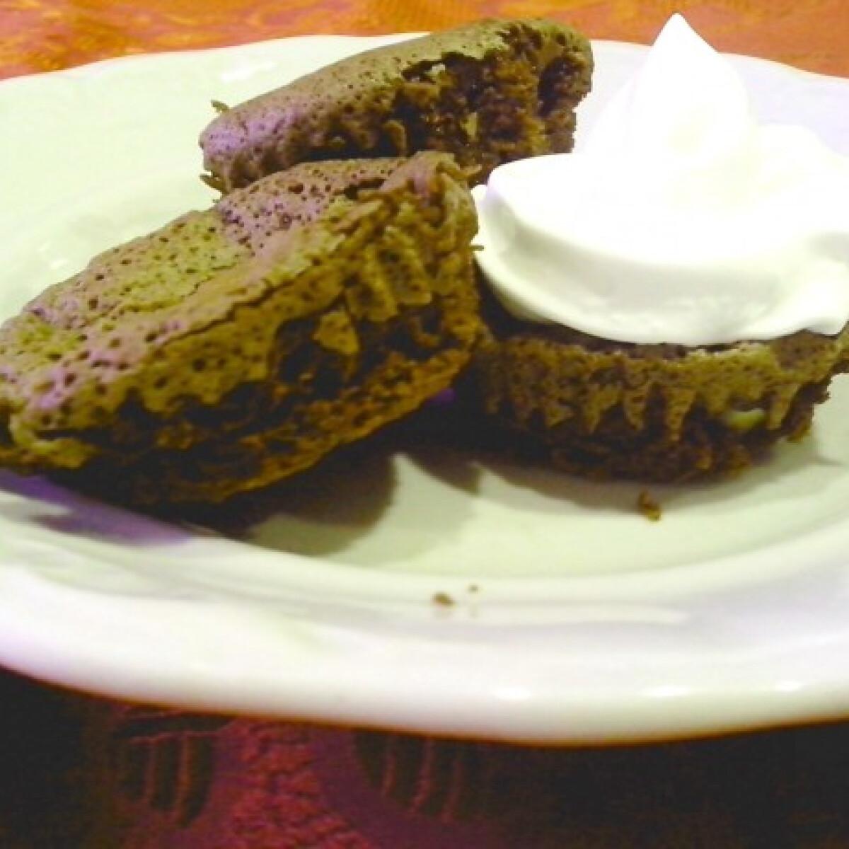 Ezen a képen: Kávés-csokis brownie