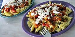 Görög zöldséges ragu tésztával