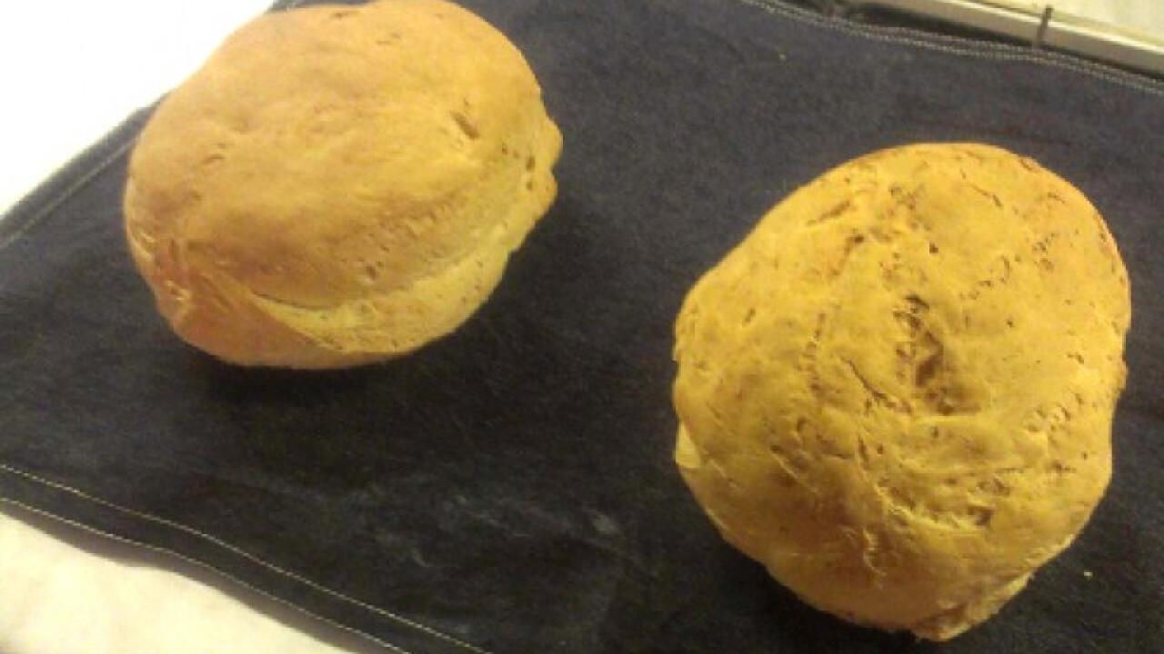Kovászos burgonyás kenyér