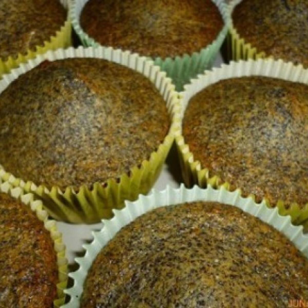 Nagyon mákos muffin