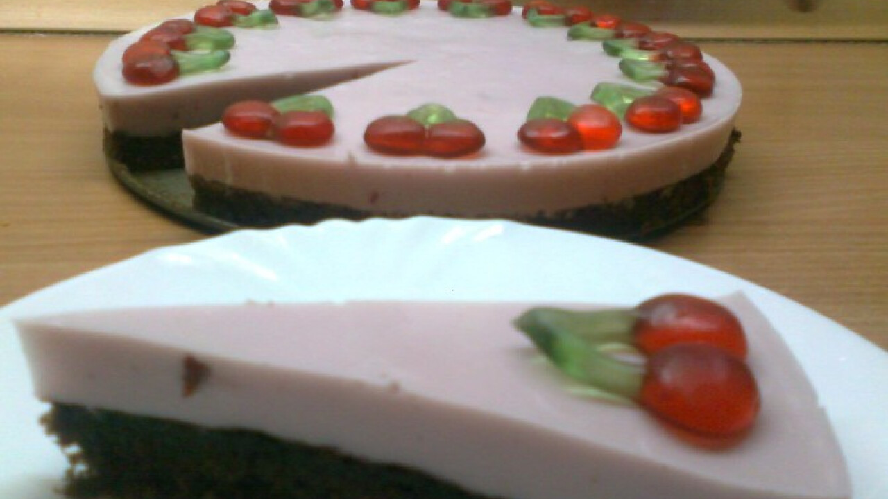 Meggyjoghurtos torta