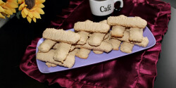 Kávés darálós keksz