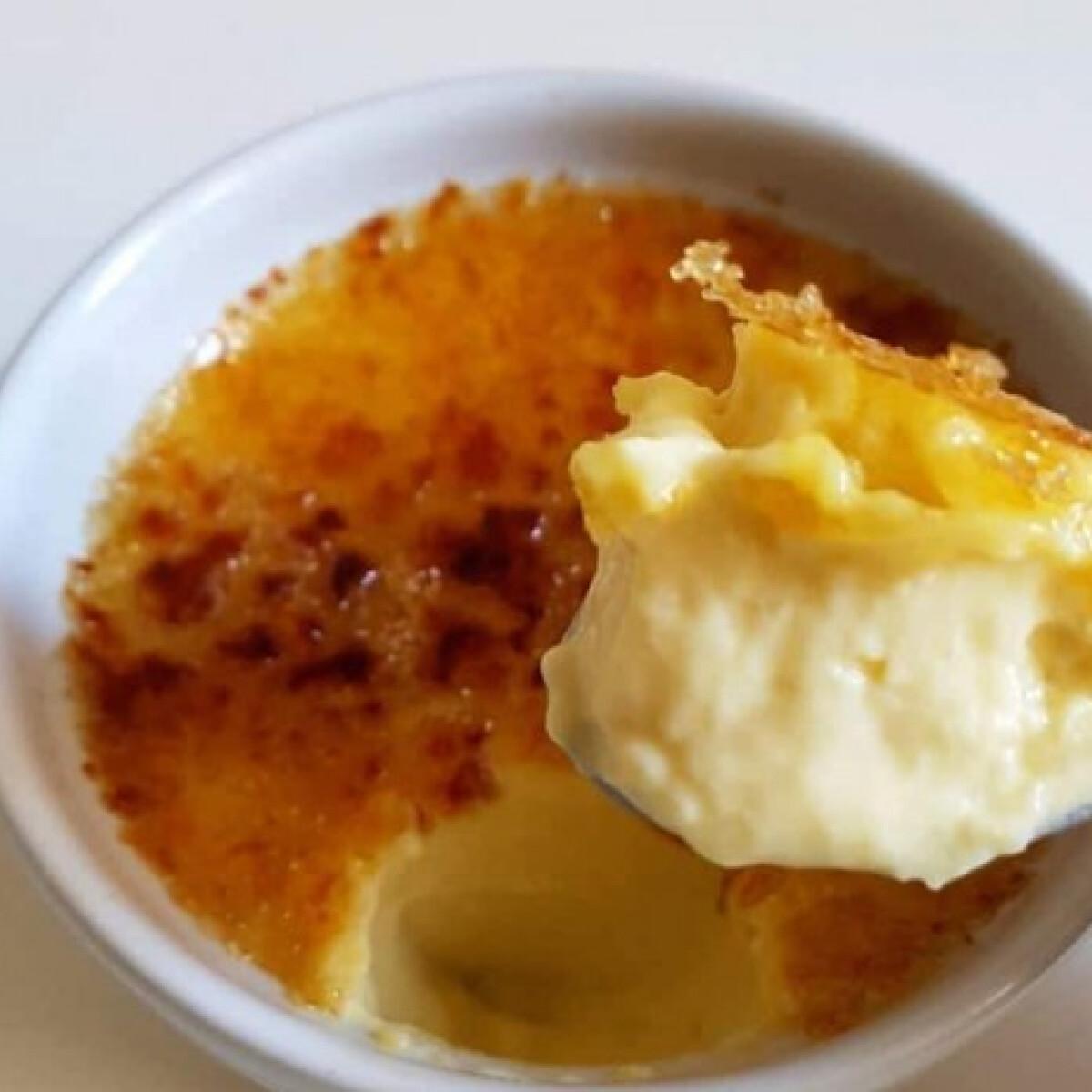 Ezen a képen: Crème brûlée Vivkó konyhájából