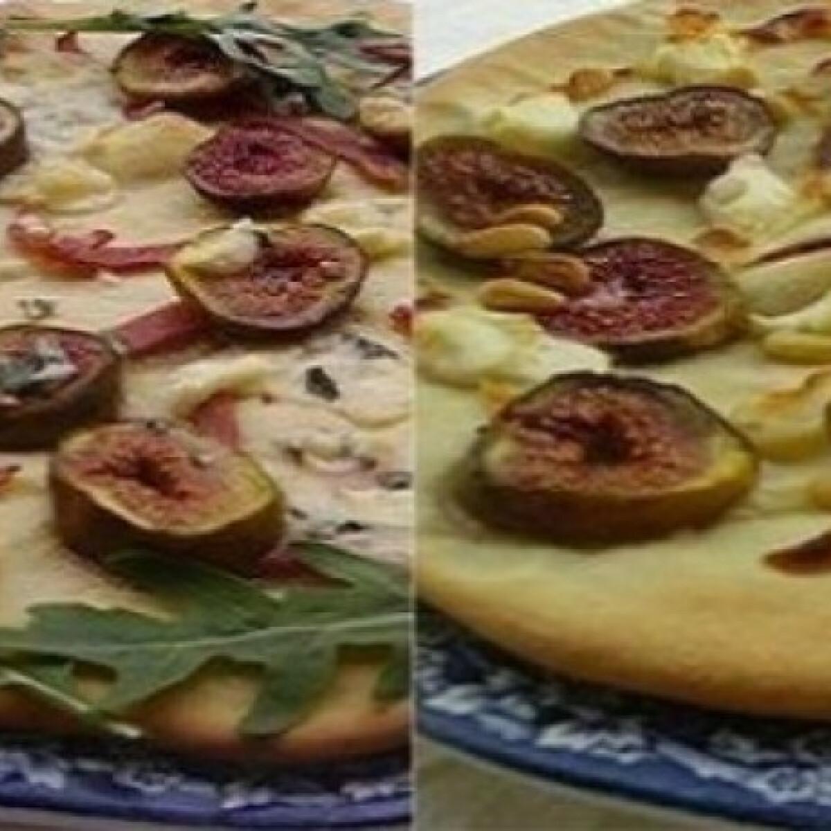 Ezen a képen: Fügés pizzák
