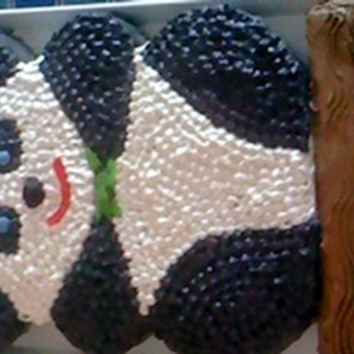 Ezen a képen: Panda torta