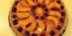 Áfonyás gyümölcstorta