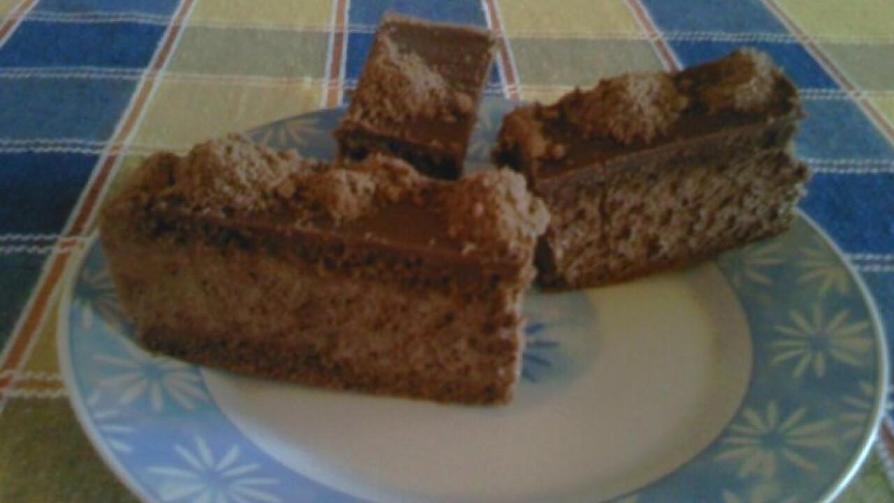 Csokoládés szelet Angie konyhájából