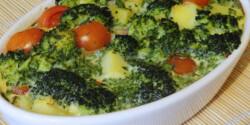 Csőben sült zöldség