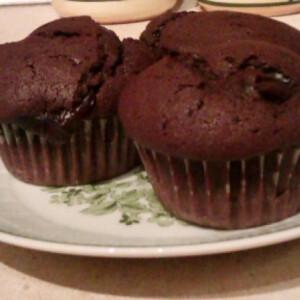 Triplacsokis-pudingos muffin