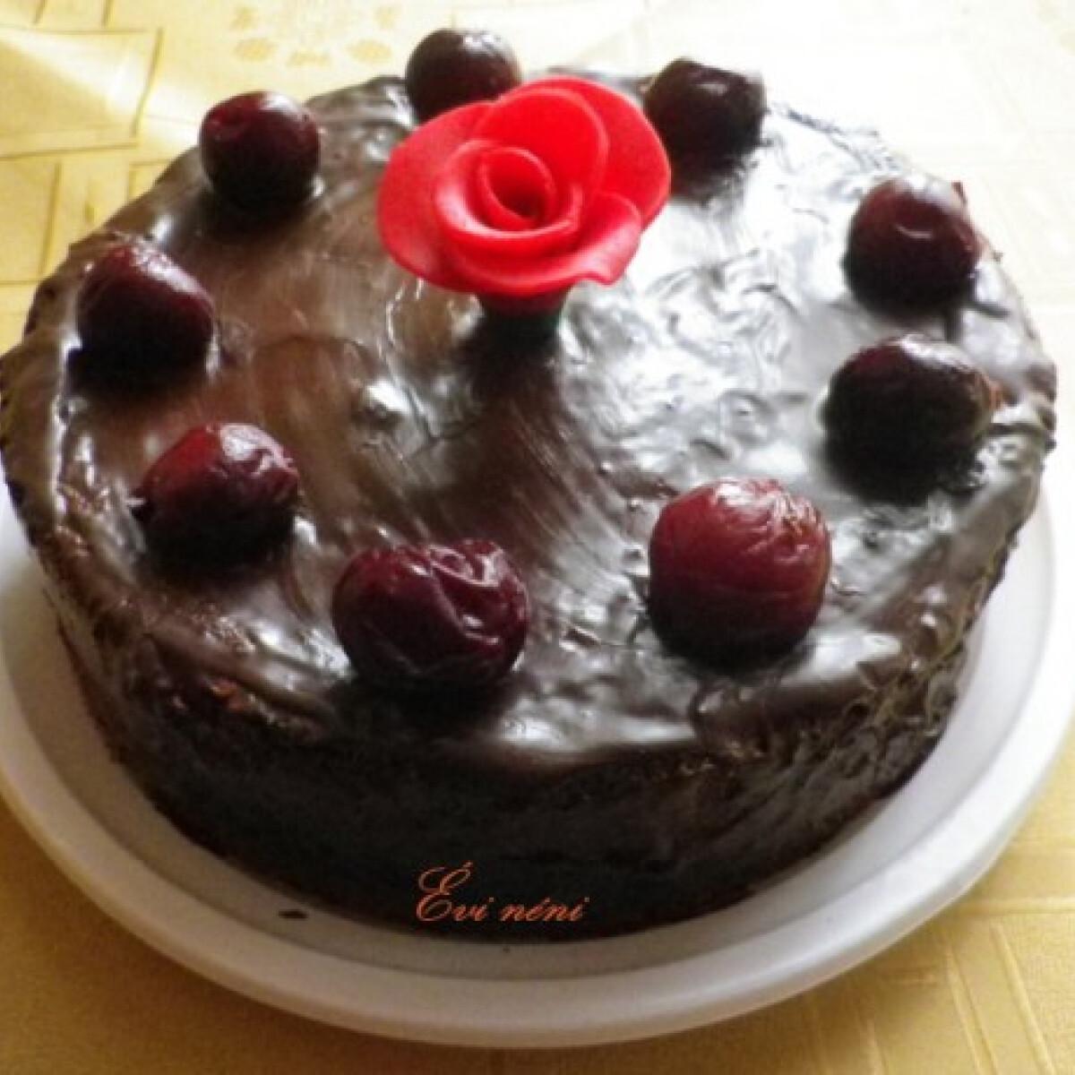 Ezen a képen: Lúdláb torta Évi nénitől