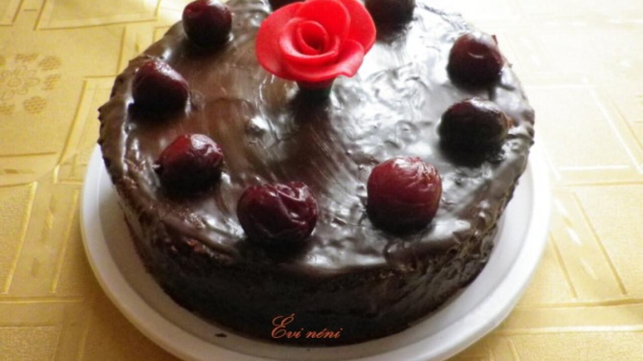 Lúdláb torta Évi nénitől