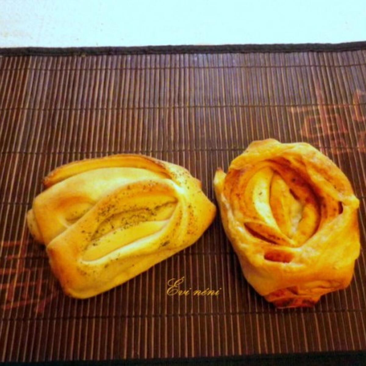 Ezen a képen: Hámozott kenyér-Pan de hojaldre