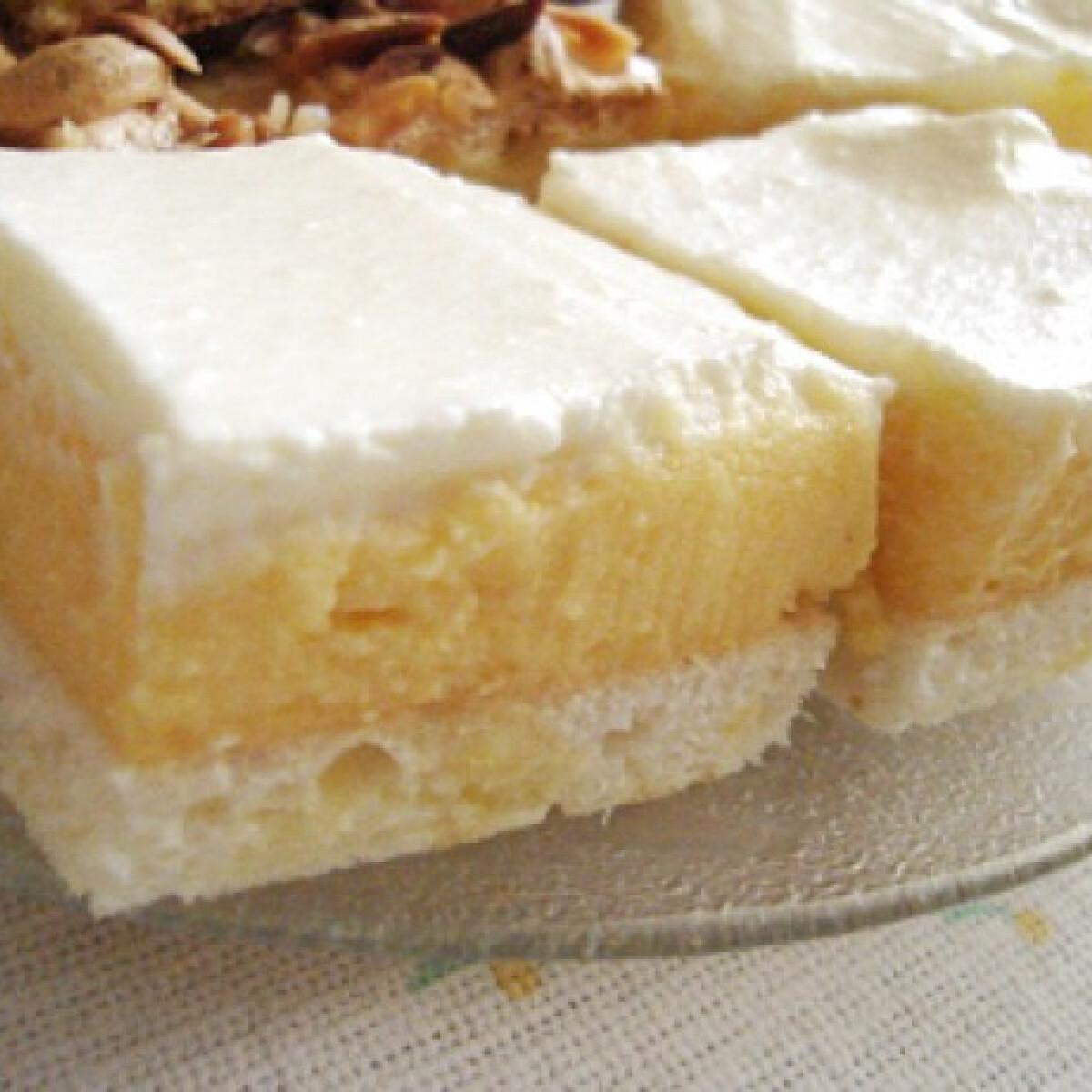 Ezen a képen: Madártej szelet gluténmentes