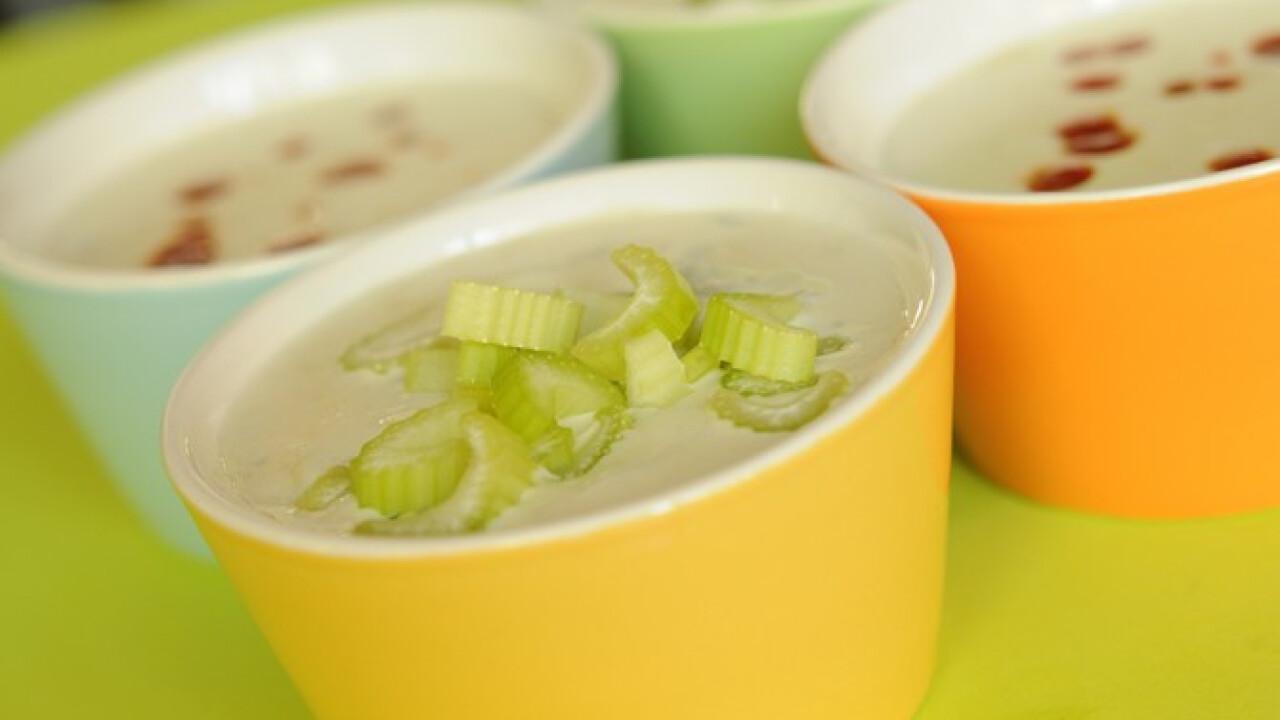 Négysajtos leves