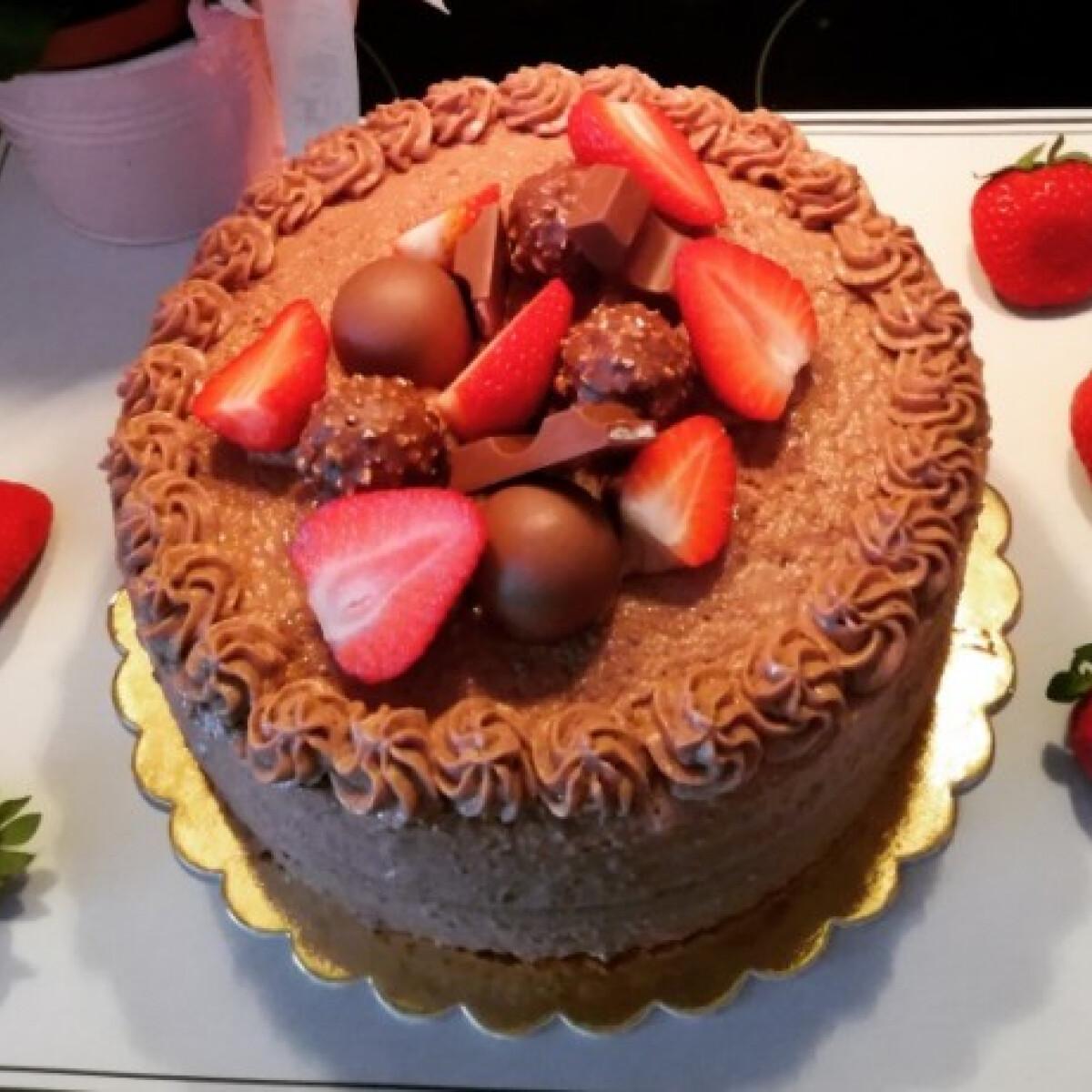 Ezen a képen: Epres-csokis szerelembomba