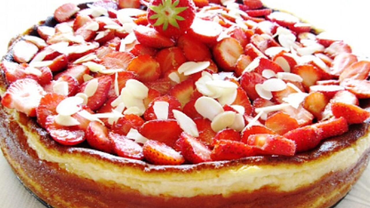Epres cheesecake