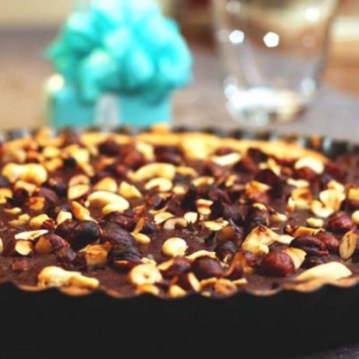 Ezen a képen: Szülinapi nutella torta