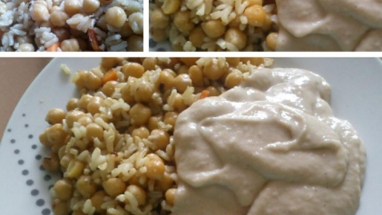 Csicseris rizs babonézzel