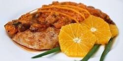 Narancsos sertéskaraj