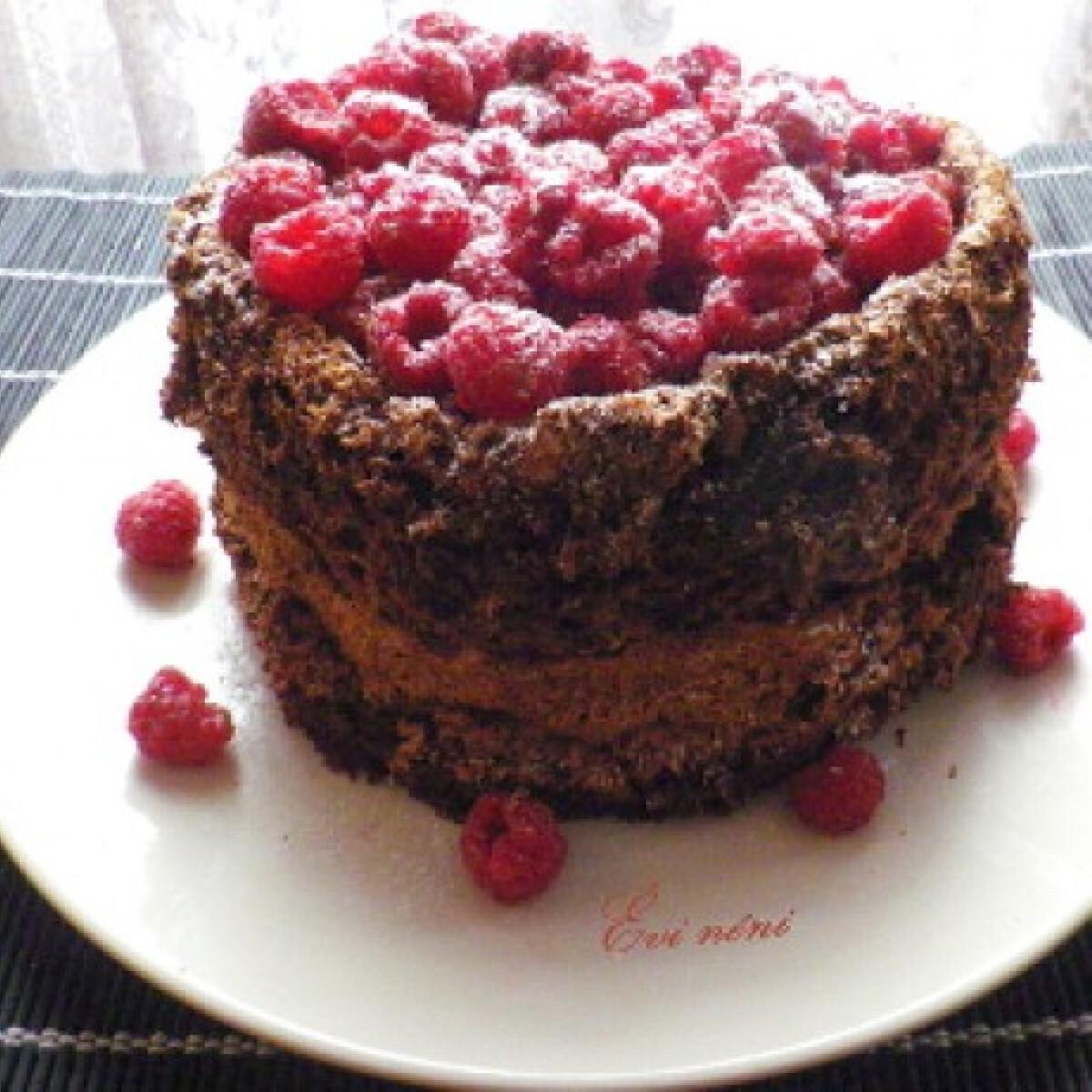 Gluténmentes torta ganache krémmel