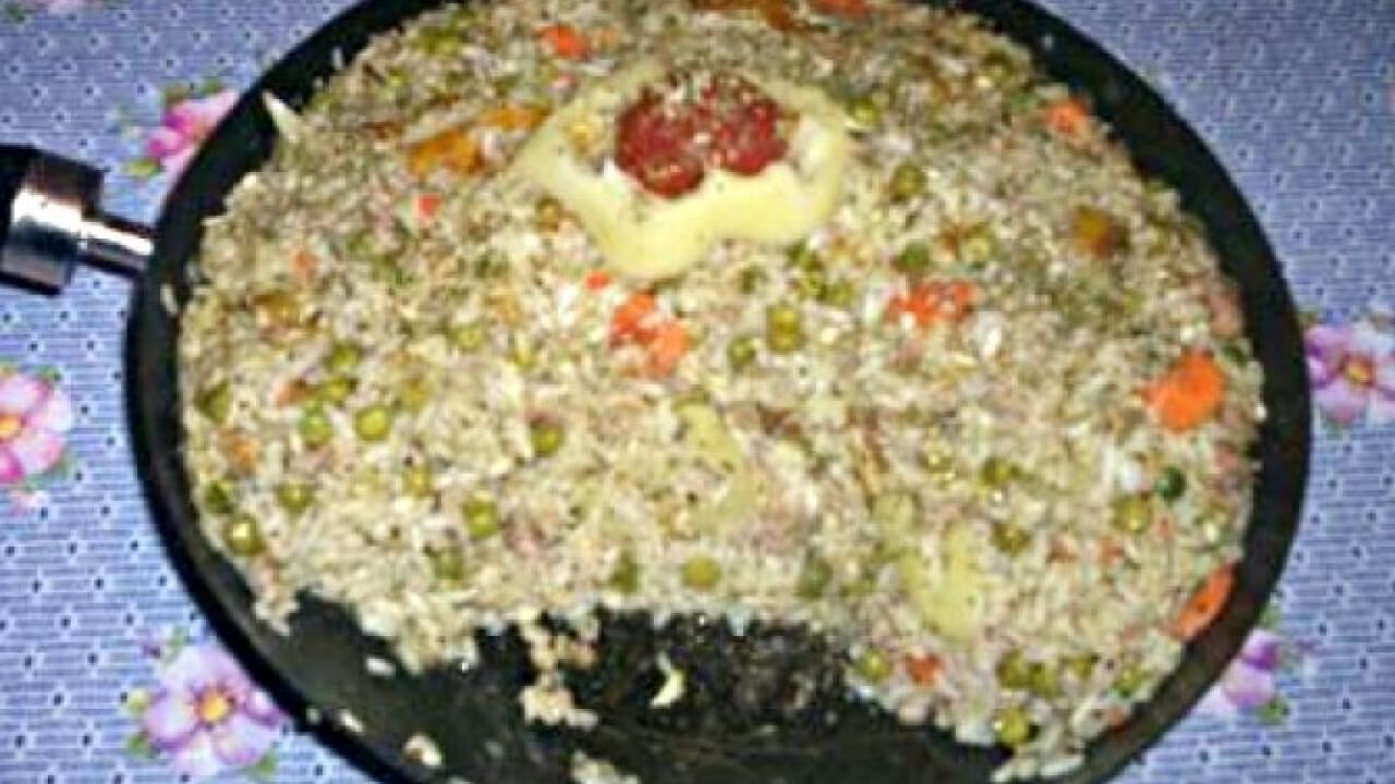 Darált húsos-árpás rizottó