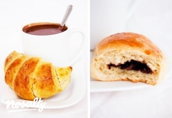 Ezen a képen: Csokoládés croissant (Croissant 2.)