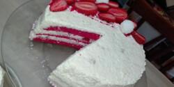 Epres Raffaello torta Dinkuci konyhájából