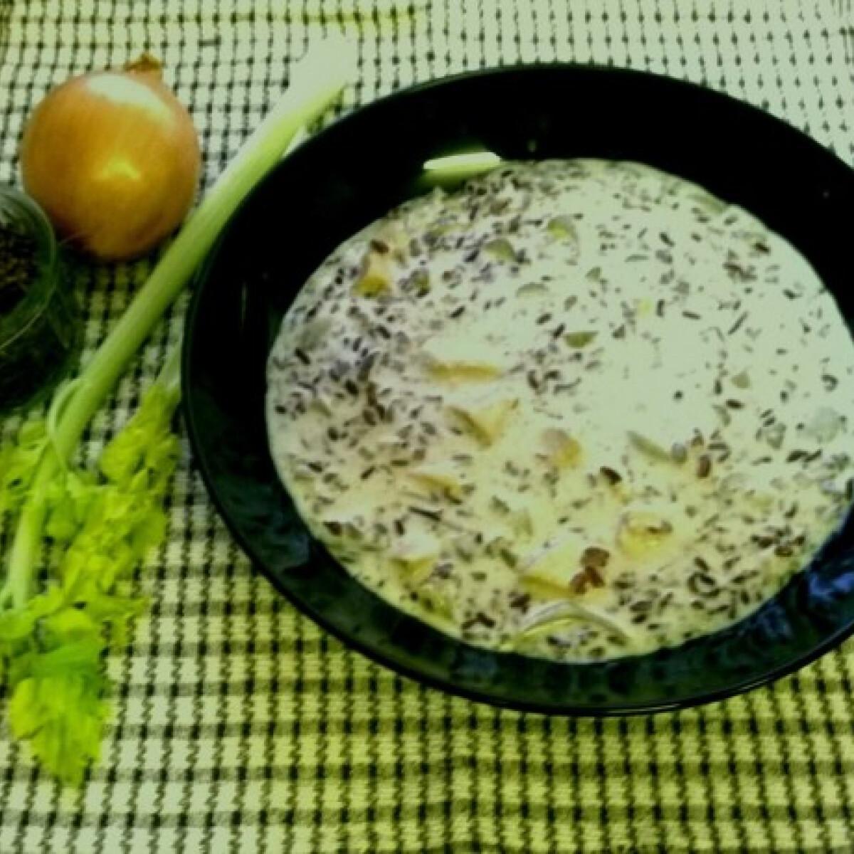 Ezen a képen: Minnesota vadrizs leves