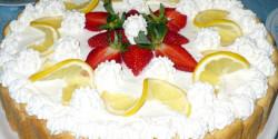 Citromos álom-torta