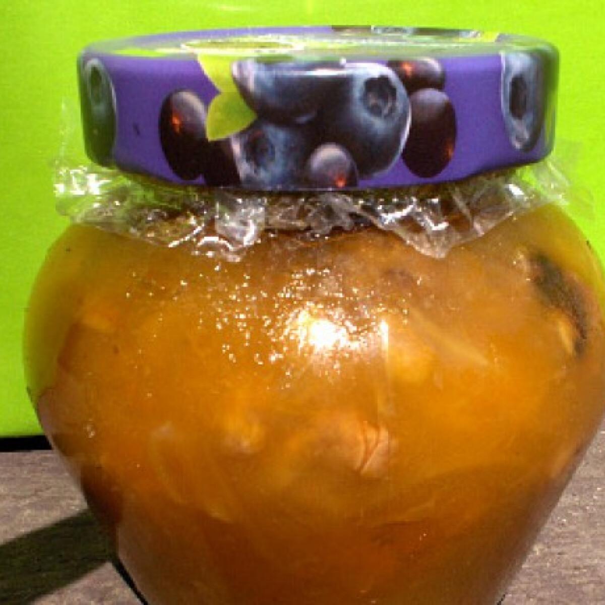 Gyömbéres-diós grapefruit íz