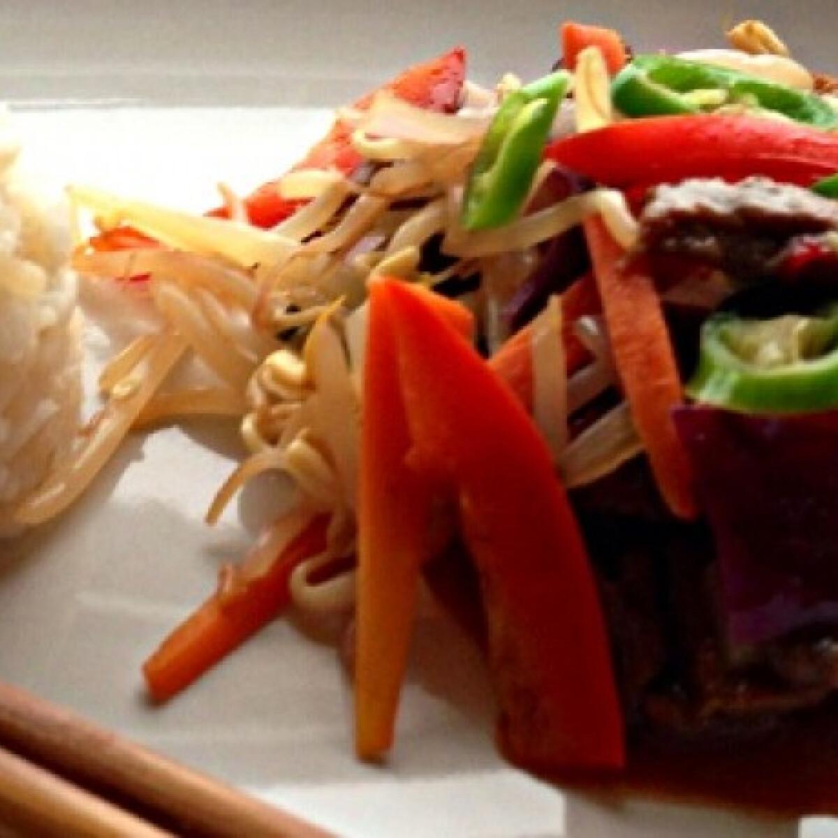Színes kínai marharagu