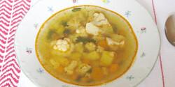 Karfiolleves Brigi konyhájából