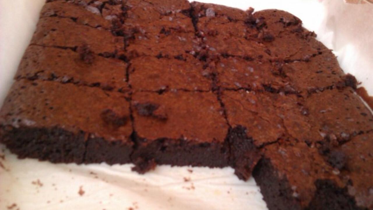 Brownie ahogy Gréti készíti