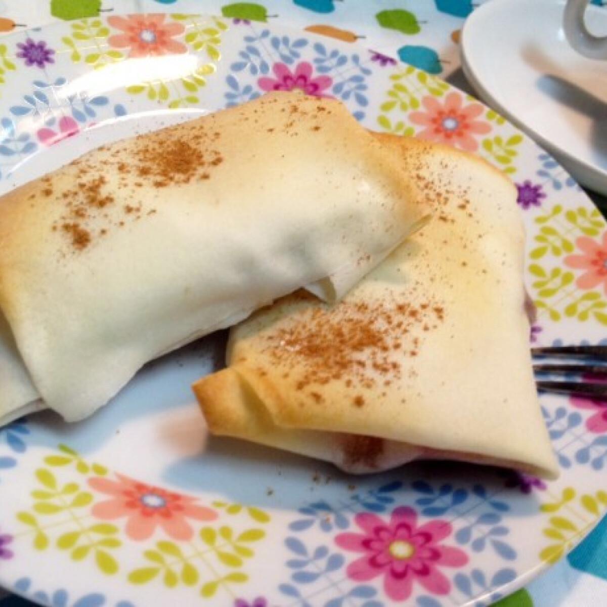 Cukormentes reform almás pite