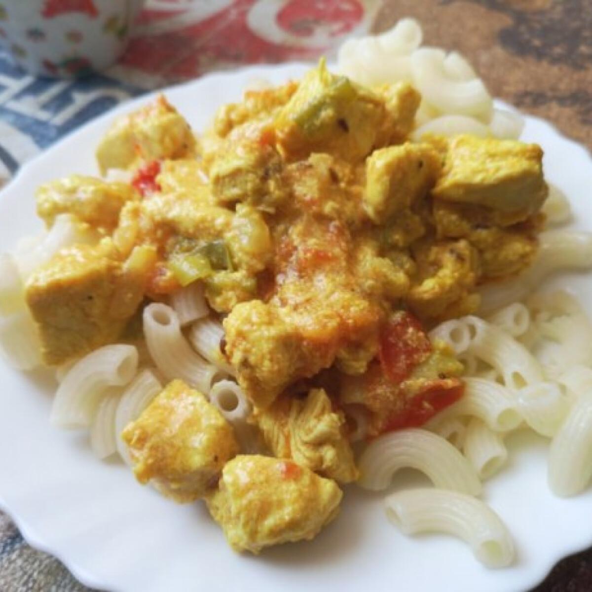 Currys-gyömbéres csirke