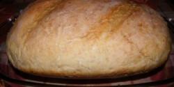 Kenyér élesztett öregtésztával -Házi fehér kenyér 7.