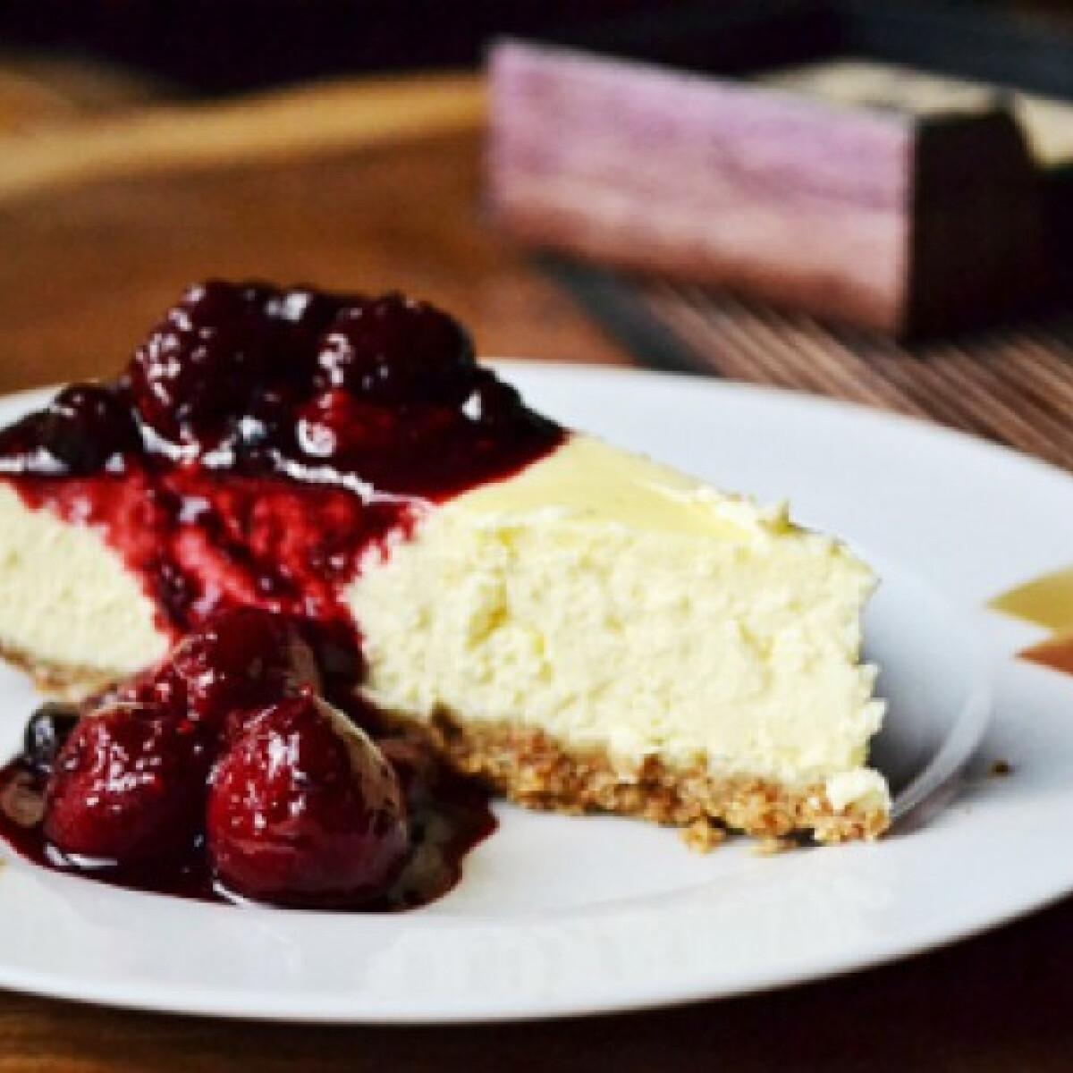 Ezen a képen: Mascarpone cheesecake