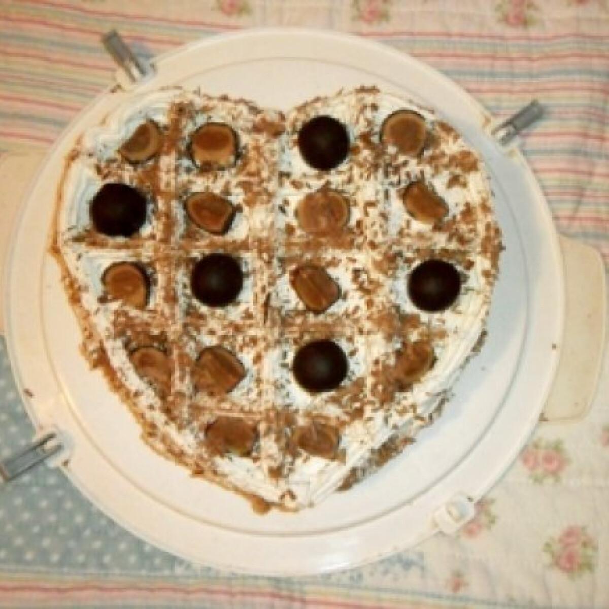 Mandulás szülinapi torta