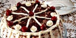 Csokis feketeerdő-torta