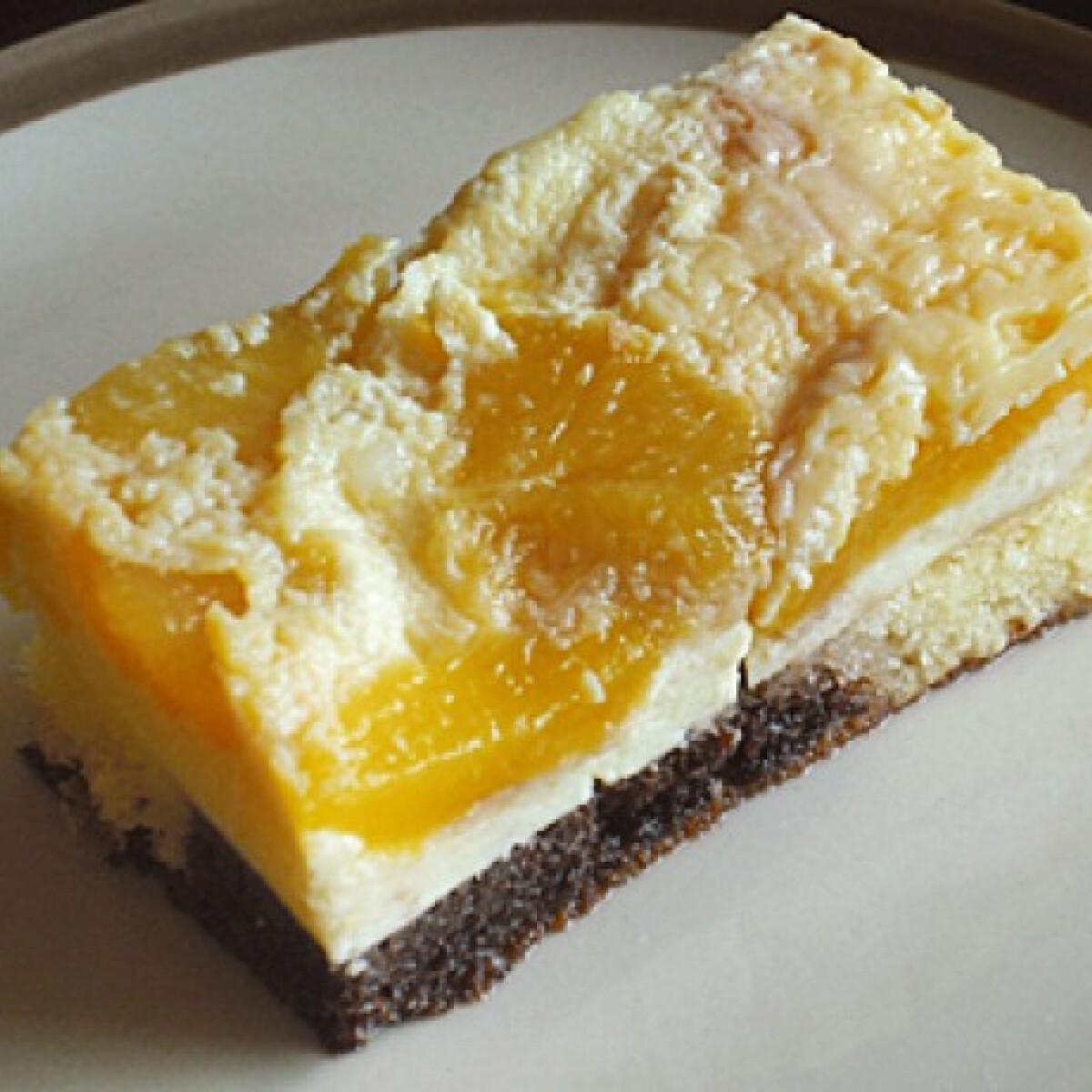 Gyümölcsös tojáskrémes süti
